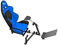 Best Rated Chairs for Video Games | OpenWheeler Advanced Racing Seat and Stand Driving Simulator Gaming Chair with Gear Shifter Mount