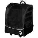 Best Cat Carriers for Large Cats | Pet Gear I-GO2 Plus Traveler Rolling Backpack Carrier for Cats and Dogs
