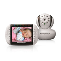 Motorola MBP36 Remote Wireless Video Baby Monitor with 3.5-Inch Color LCD Screen, Infrared Night Vision and Remote Ca...