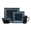 Reactive Glaze Dinnerware Reviews | Oneida Adriatic Blue Dinnerware - 16pc Set