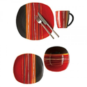 Reactive Glaze Dinnerware Sets