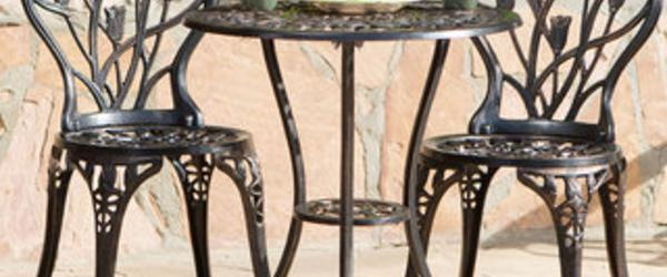 Best Cast Aluminum Outdoor Patio Bistro Furniture Sets