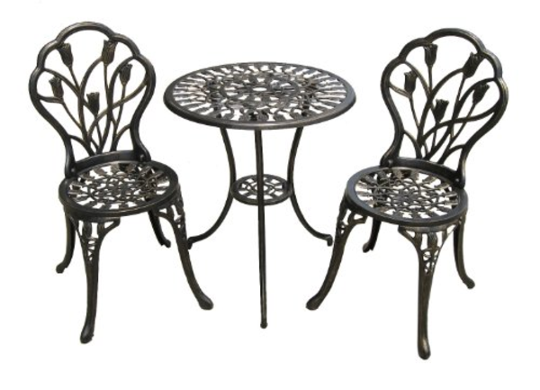 Best Cast Aluminum Outdoor Patio Bistro Furniture Conversation Sets