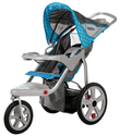 Best Jogging Strollers Reviews and Ratings 2014 | InStep Safari Single Swivel Stroller, Blue