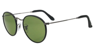 John Lennon Sunglasses | Ray-Ban 3475Q 019-62 Blue 3475Q Round Sunglasses