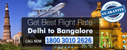 Flights Delhi Bangalore