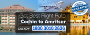 Cochin To Amritsar Flights Schedule