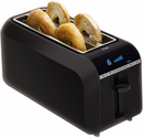 Best Toasters Reviews and Ratings 2014 | T-fal TL6802002 4-Slice Digital Toaster with Bagel Function, Black