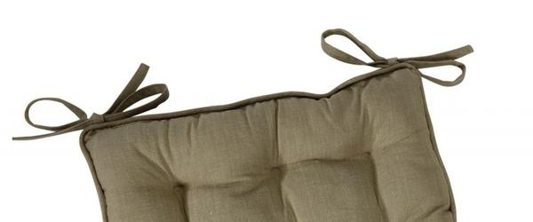 Best Kitchen chair cushions / pads / seat pads with ties 2014