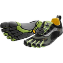 Best Barefoot Runners 2014 | Vibram FiveFingers Bikila LS Running Shoe - Men's Black/Grey, 43.0