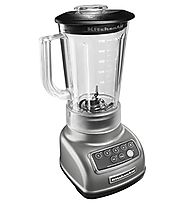 Best Countertop Blenders Reviews and Ratings | KitchenAid KSB1570SL 5-Speed Blender with 56-Ounce BPA-Free Pitcher - Silver