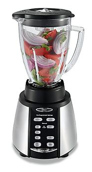 Best Countertop Blenders Reviews and Ratings | Oster BVCB07-Z Counterforms 6-Cup Glass Jar 7-Speed Blender, Brushed Stainless/Black