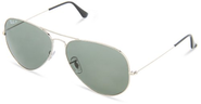 Top 10 Best Sunglasses For Driving 2013-2014 | Ray-Ban RB3025 Aviator Large Metal Sunglasses