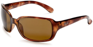 Top 10 Best Sunglasses For Driving 2013-2014 | Ray-Ban RB4068 Oversized Wrap Sunglasses 60 mm, Polarized, Brown Tortoise/Brown