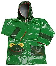 Kidorable Green Frog Raincoat