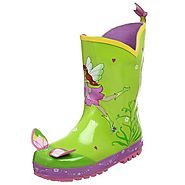 Best Children's Raincoats With Matching Boots And Umbrellas | Kidorable Fairy Rain Boot (Toddler/Little Kid)