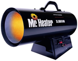 Top 10 Best Rated Space Heaters | Mr. Heater 35, 000 BTU Propane Forced-Air Heater #MH35FA - Space Heaters
