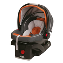 Best Infant Car Seats Reviews 2014 | Graco SnugRide Click Connect 35 Car Seat, Tangerine