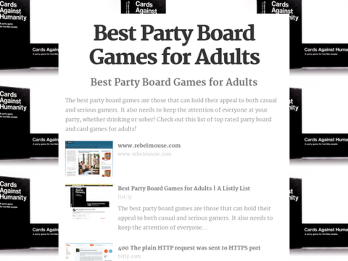 top 10 best rated party board games for adults 2016 2017 reviews a listly list. Black Bedroom Furniture Sets. Home Design Ideas