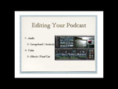 Working with audio | TeacherCast Broadcasting Network: Educational Professional Development hosted by Jeff Bradbury