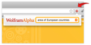 WolframAlpha Extension for Google Chrome