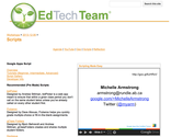 EdTechTeam Arizona Summit Day 2 Links | Scripts - EdTechTeam