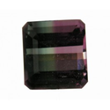 0.92ct Genuine bicolor watermelon Tourmaline loose gemstone for sale