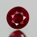 0.30 ct Natural red ruby loose gemstone
