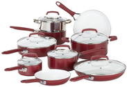 Best Budget Cookware Sets Reviews and Ratings 2014 | WearEver C943SF63 Pure Living Nonstick Scratch-Resistant Durable Ceramic Coating Healthy PTFE-PFOA-Cadmium Free Dishw...