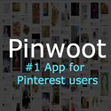 Pinwoot - Get Pinterest followers, repins and schedule pins for free