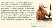 Cornell University Department of Music