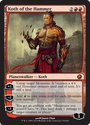 MTG Planeswalker Card List | Koth of the Hammer - Scars of Mirrodin