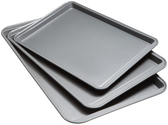 Best Cookie Sheet Reviews 2014 | Good Cook Set Of 3 Non-Stick Cookie Sheet