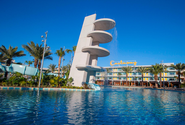 Fun facts about Cabana Bay Beach Resort | Cabana Courtyard
