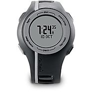 Best GPS Watch for Running and Cycling | Garmin Forerunner 110 GPS-Enabled Unisex Sport Watch - Black (Certified Refurbished)