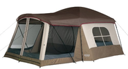 Quality Tents and Tent Kits 2014 | Wenzel Klondike 16 X 11-Feet Eight-Person Family Cabin Dome Tent (Light Grey/Taupe/Red)