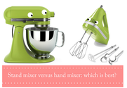 Hand Held Food Mixers | Hand Mixer vs. Stand Mixer: What's the Difference?