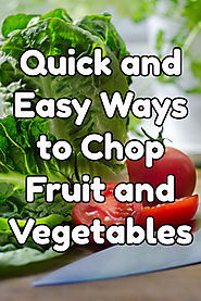Best Hand Salad Choppers for Lettuce, Onions, Tomatoes and Fruit - Kims Five Things
