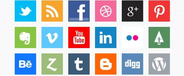 Awesome Social Media Icon Resources