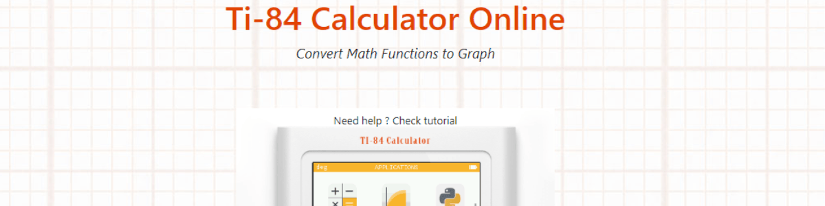 Top 5 Ti-84 Calculator Online - Online Graphing Calculator | A