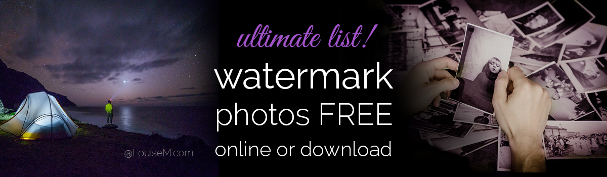Watermark Photos FREE with the Best Watermark Tools