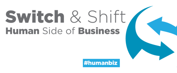Headline for Switch & Shift's Top 75 List of Human Business Champions