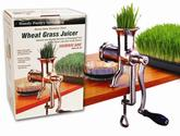 Best Top Rated Wheatgrass Juicers Reviews and Ratings 2014 | Handy Pantry HJ Hurricane Stainless Steel Manual Wheatgrass Juicer