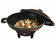 Best Electric Woks Reviews | Aroma 7-Qt. Electric Wok - Kitchen Things