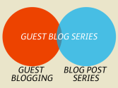 Blog Post Series - A Collection of Posts on How & Why Blog Post Series are Effective Content Marketing | No4: How to be a serial guest blogger. Take Your Blog Post Series on the Road