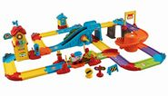 Best Vtech Educational/Learning Toys for Toddlers - Reviews And Ratings | VTech Go! Go! Smart Wheels - Train Station Playset