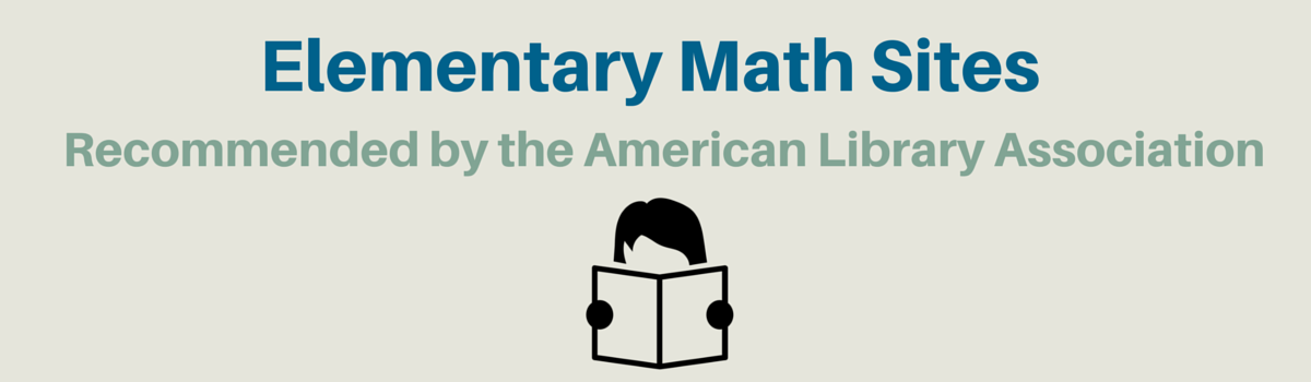 Headline for Math Websites Recommended by the ALA