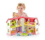 Best-Rated Inexpensive Dollhouses for Little Girls (and Toddlers too!) | Fisher-Price Little People Surprise & Sounds Home