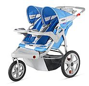 Best Double Jogging Stroller Reviews and Ratings | InStep Safari Double Swivel Stroller