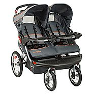 Best Double Jogging Stroller Reviews and Ratings | Baby Trend Navigator Double Jogging Stroller, Vanguard